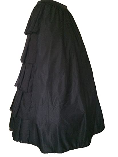 Negro gótico victoriano, larga bola de pirata medieval, Traje de ...