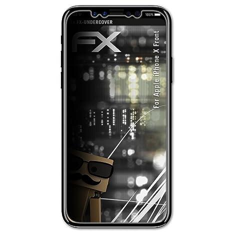 ea913c600a6ca atFoliX Filtre de confidentialité pour Apple iPhone X Front Film de  Protection confidentiel