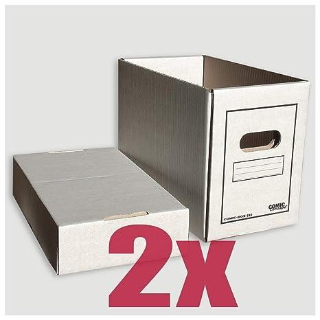 Comic Concept Comic-caja (corto) 2er-manada Meter en caja de cartón