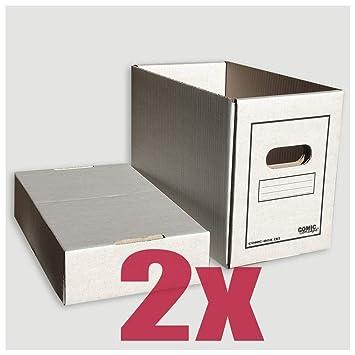 Comic Concept Comic-caja (corto) 2er-manada Meter en caja de cartón: Amazon.es: Bricolaje y herramientas