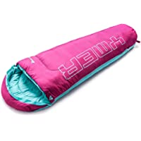 Meteor 150 x 60 cm Kids Sleeping Bag Thermal Comfort Family Outdoor Backpacking Hiking Tent (0°C to +15°C)