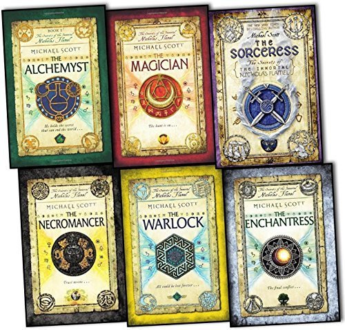 A Complete Michael Scott's The Secrets of the Immortal Nicholas Flamel Series