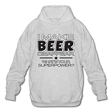 I Make Beer Disappear What s Your SUPERPOWERLong Sleeve For Men Custom  Hoodie SweatshirtsizeKey1Ash d3c822d0a3b2