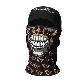 Savage Gear Skull Balaclava Black  Amazon.co.uk  Sports   Outdoors 046244528a