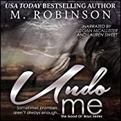 Undo Me: The Good Ol' Boys | M. Robinson