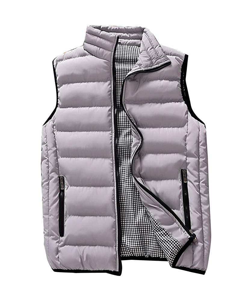 Guiran Men's Lightweight Sleeveless Jacket Gilet Body Warmer