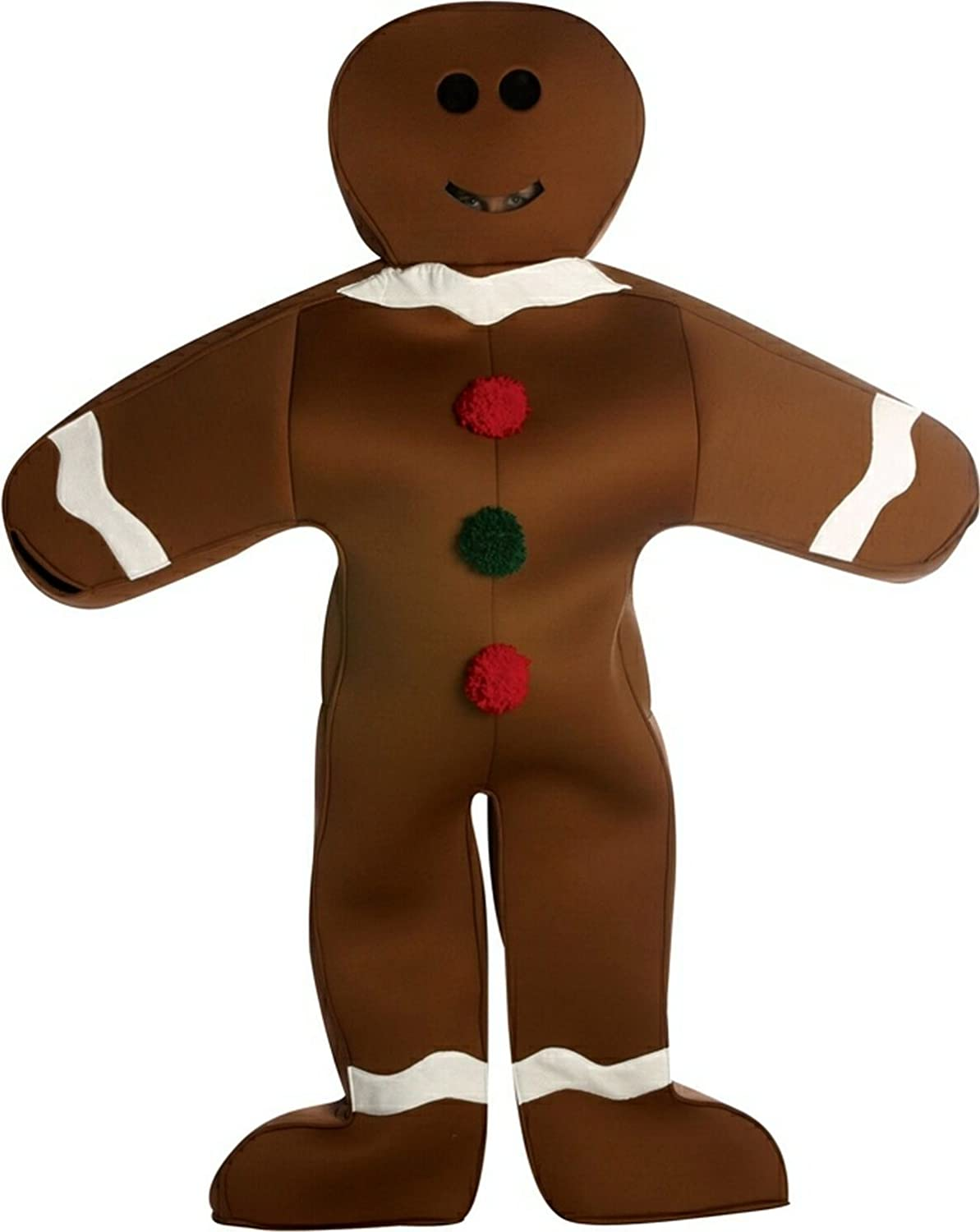 original adult mr gingerbread costume
