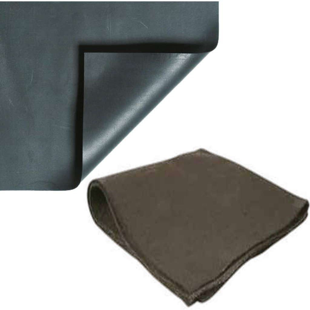 10' x 15' 20 mil PVC Pond Liner & Underlayment Combo by Anjon Manufacturing