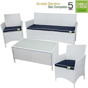 Enrico Coveri Centro Completo de jardín Muebles para ...