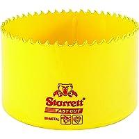 Starrett 63FCH083 Corona perforadora, Amarillo, 83 mm