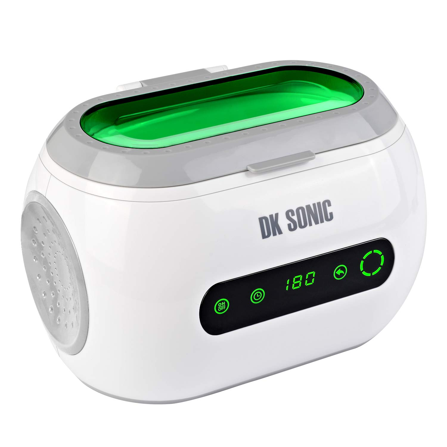 DK SONIC Professional Ultrasonic Jewelry Cleaner with Digital Timer for Eyeglasses, Rings, Coins by DK SONIC (Image #1)