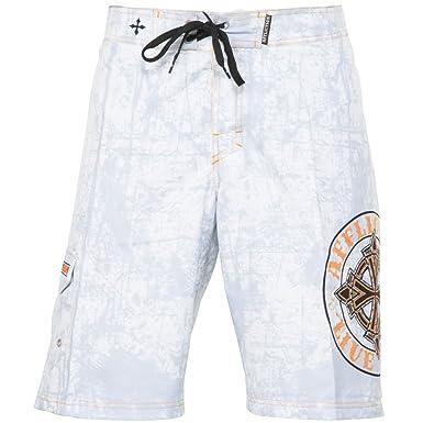 b05bc66e87 Affliction Royal Chromatic Boardshorts at Amazon Men's Clothing store: