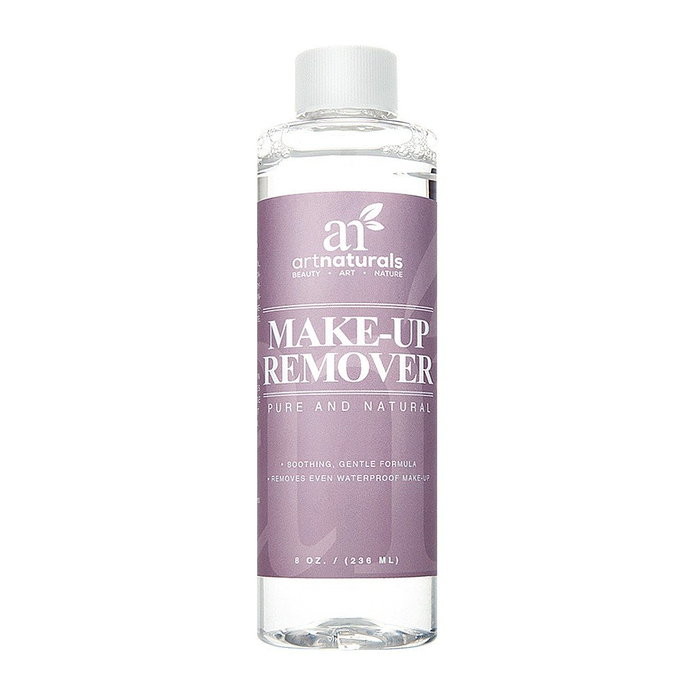 ArtNaturals Natural Oil-Free Makeup Remover - Cleansing Cosmetics – for Face - 8.0 oz ANVA-0801-VE
