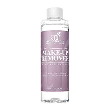 Makeup Remover (8oz) - Natural Oil - Free Soothing Solution for All Skin Types Payout Payot OptiMale Refreshing Eye Contour Care, 0.5 oz