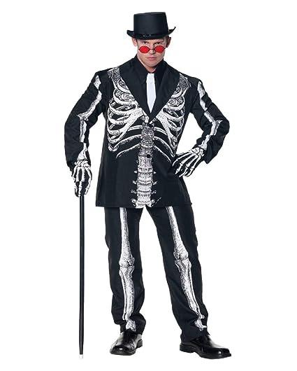 Traje Baron Samedi Skeleton XL: Amazon.es: Juguetes y juegos
