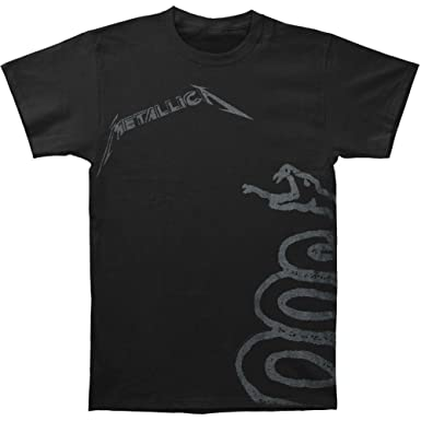 Amazon.com: Metallica Black Snake T-shirt: Clothing