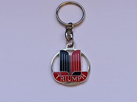 Triumph Keyring Double Sided Emblem 36 Mm Tr2 Tr3 Tr4 Tr6 Amazonco