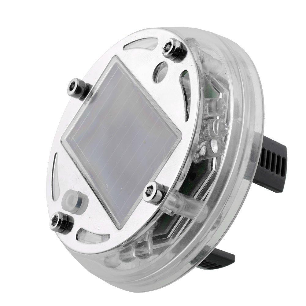 Sedeta/® 4 modalit/à 12 LED Lampada a luce solare a energia solare Lampeggiante decorativo Illuminazione a LED per pneumatici colorati Luci del tappo della valvola pneumatica delle ruote delle ruote