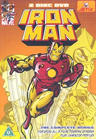 Iron Man - The Complete Series (1966) [DVD] (PAL Format)
