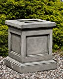 Campania International PD-197-VE St. Louis Pedestal, Verde Finish