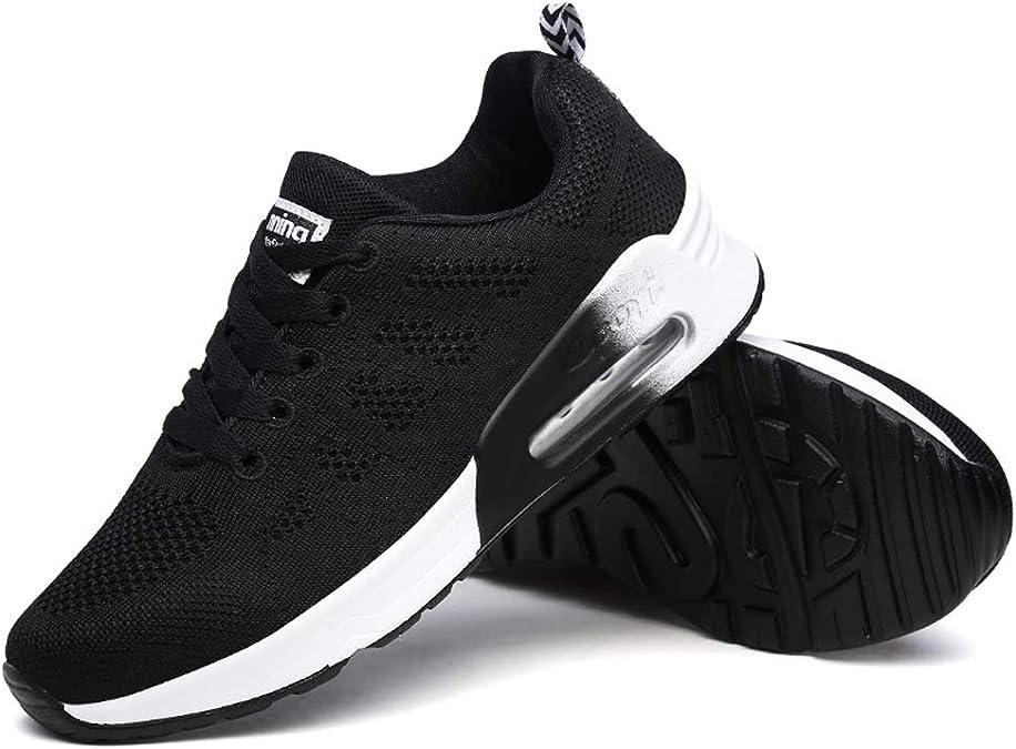Minbei Baskets Femmes Chaussures de Running Respirantes pour