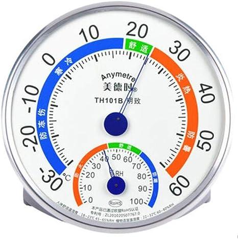 Higrometro Digital Termometro Higrometro Digital Relojes Jardin Hogar Medidor De Temperatura Y Humedad Del Hogar Habitación Del Bebé Interior De Alta Precisión Higrómetro De Invernadero: Amazon.es: Bebé