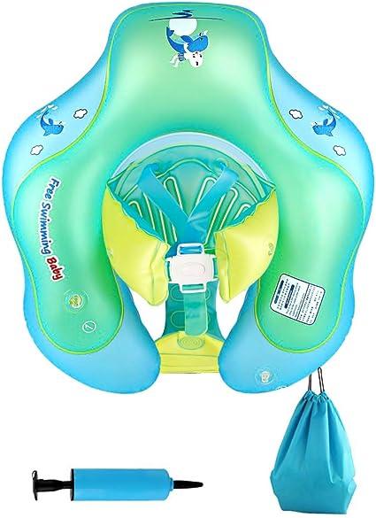 Amazon.com: Nicewell Flotador para bebé, hinchable, flotador ...