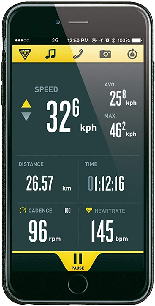 Topeak Ridecase Für Iphone 6 Plus Ohne Halter Trk Tt9846 Farbe Schwarz Elektronik