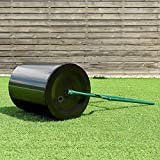 16G Heavy Duty Poly Push Tow Lawn Roller Poly