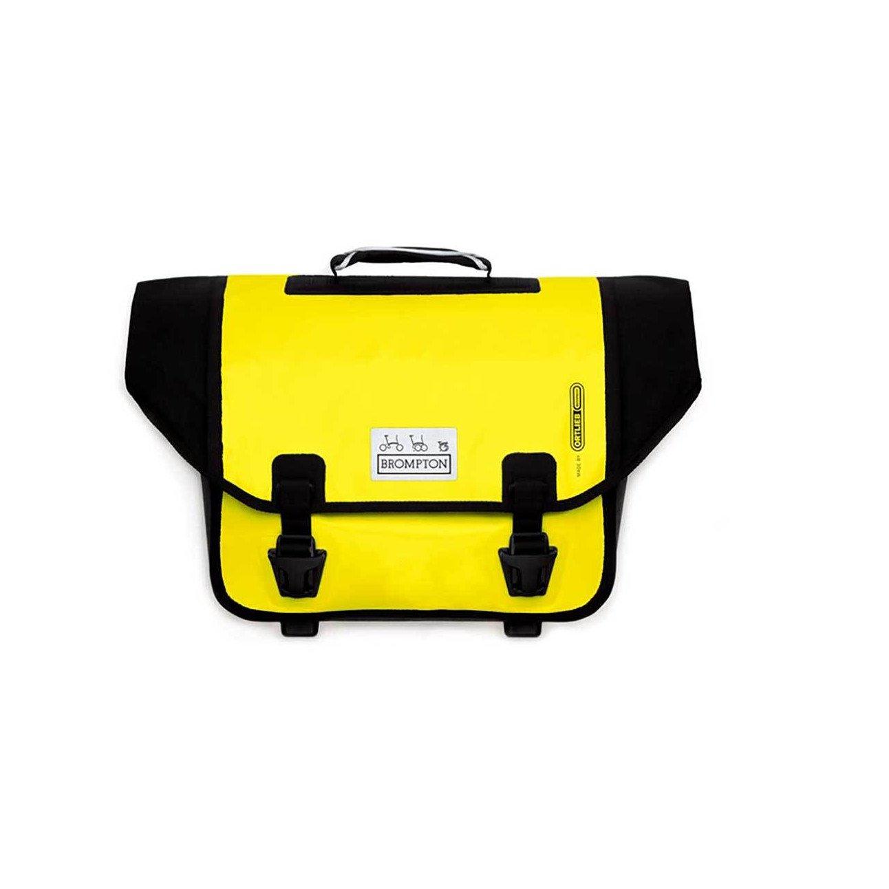 NEW Brompton O Bag Ortlieb Messenger Bag Berry YELLOW