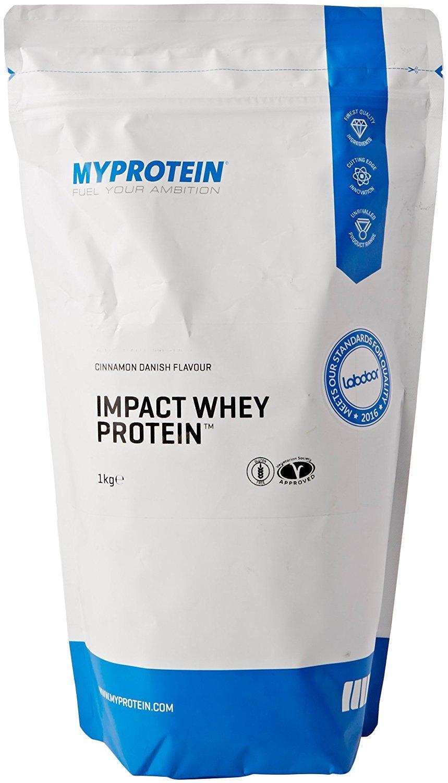 MyProtein Impact Whey Proteína de Suero, Sabor Rollo de Canela - 1000 gr: Amazon.es: Salud y cuidado personal