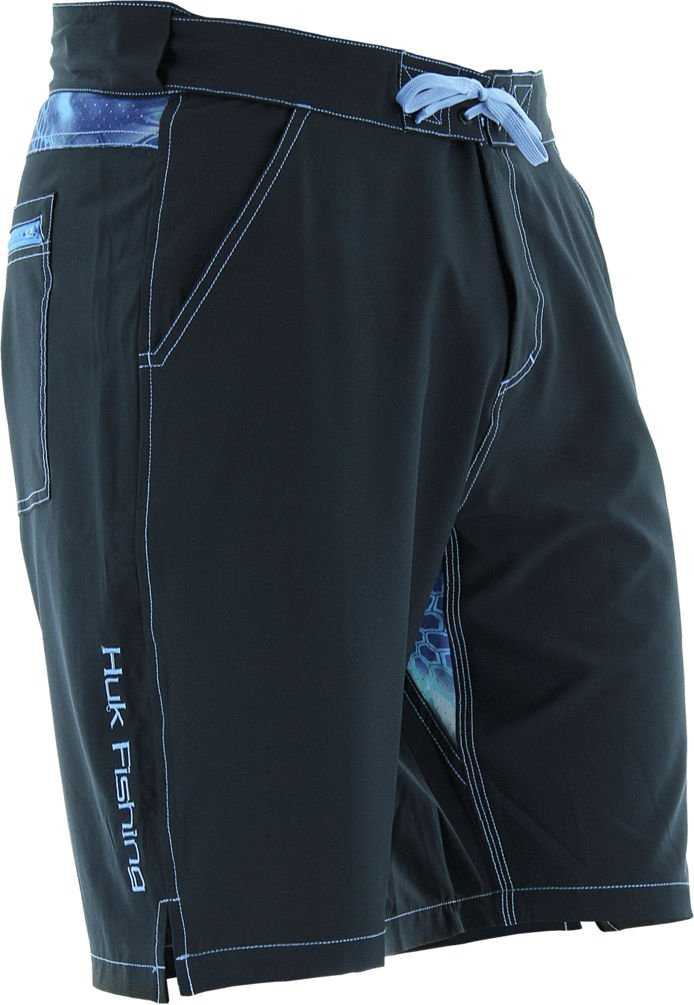 Huk Men's Next Level Board Short, Black, Large