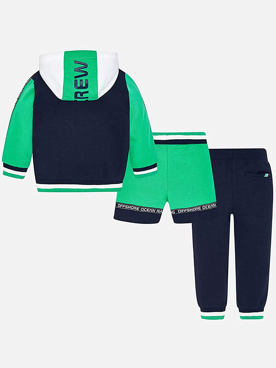 3810 Mayoral Seaweed 3 Piece Tracksuit for Boys