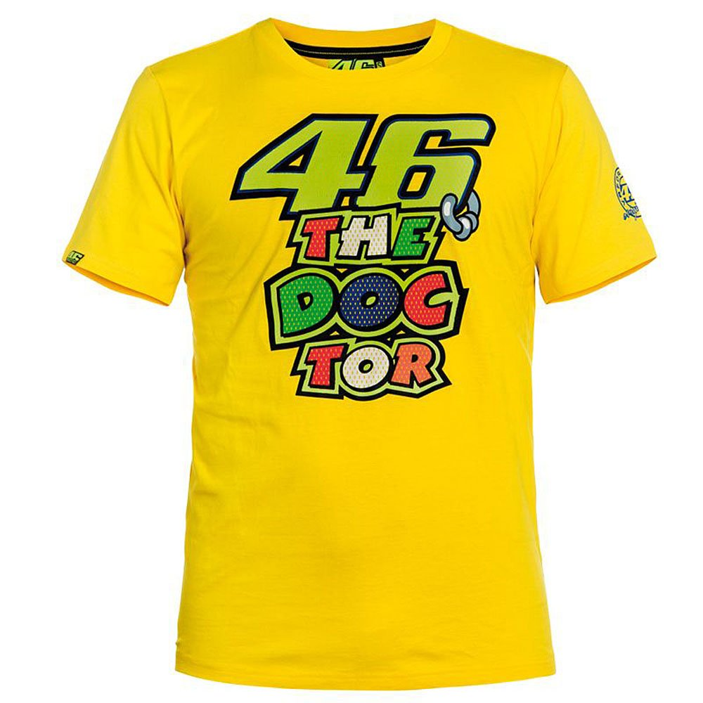 VR46 T-Shirt The Doctor 2 Officiel Moto GP Valentino Rossi