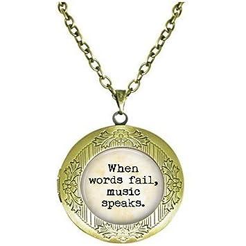 Citation D Amoureux De La Musique When Words Fail Music