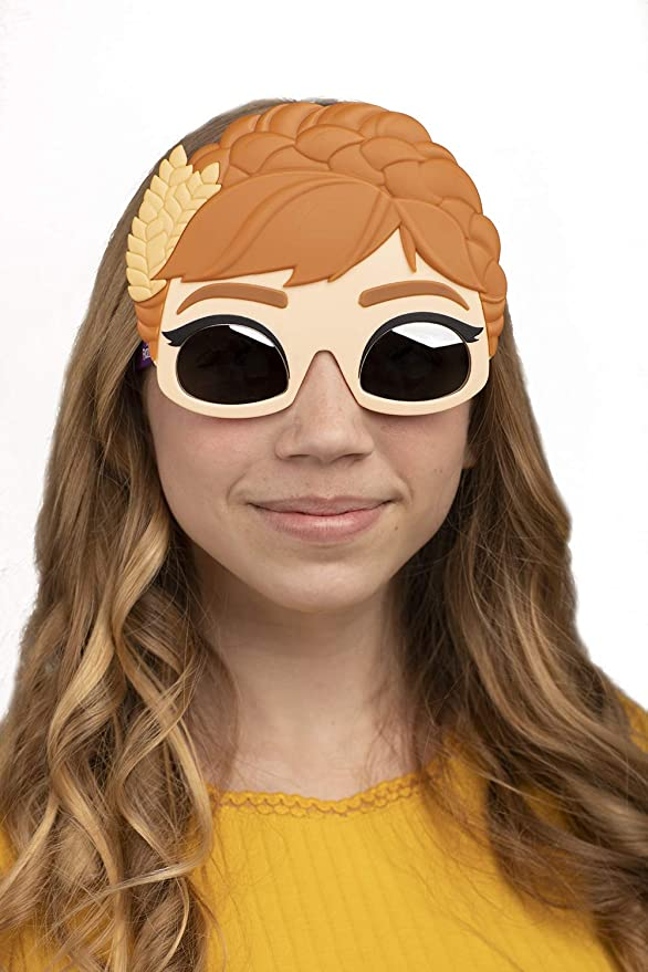Frozen II Princess Anna Sunglasses Costume Party Favor Shades UV400 Sun-Staches