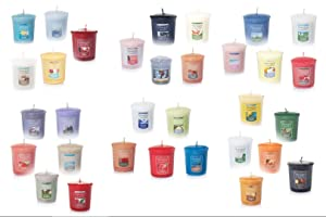 Yankee Candle Votives - Grab Bag of 10 Assorted Yankee Candle Votive Candles (10 Ct Food & Spice Fragrances Mixed)