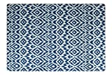 Baby Play mat | one-Piece Reversible Foam Floor mat | Large | eco-Friendly | Extra Soft | Non-Toxic | 6.5ft x 4.5ft (Blue)