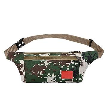 492ecdf73649 Amazon.com: Multifunction Men Male Casual Fanny Bag Waist Bag Money ...