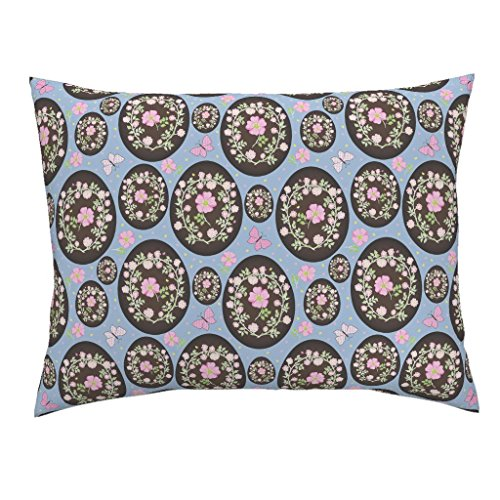Roostery Confectionary Standard Knife Edge Pillow Sham Sweet