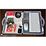Raspberry Pi 3 Model B+ アルティメットキット ( ラズベリーパイ3+ / ABSクリアケース / SanDisk Ultra A1 32GB ( NOOBS Installed ) / HDMIケーブル / Anker社製 電源( Power Port 2 Eco ) / スイッチ付きUSBケーブル / iBUFFALO microSDカードリーダー&ライター / ヒートシンク / 日本語セットアップ説明書 & サポートカード (2.4GHz ワイヤレスキーボード&マウス ( Logicool MK245 Nano ) 白)