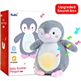 """Amazon Price History for:Bable Baby Sound Machine and Night Light Sleep Aid, White Noise with 40 Soothing Songs, Sleep Soothers Portable Soft Stuffed Animal Shower Gifts (9.5"""" Penguin)"""