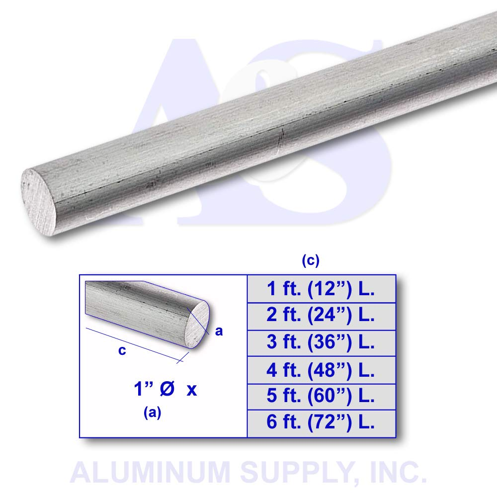 "3//4/"" X 3/"" ALUMINUM 6061 FLAT BAR 48/"" long T6511 .750/"" Solid Plate Mill Stock"