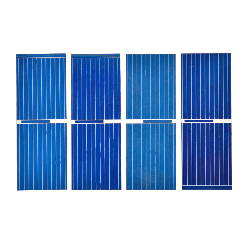 Aoshike 100pcs 05 V Micro Mini Solar Cell Panel 52 X 19mm Powered Supercapacitor Charger With Strange Output Voltage Polycrystalline Silicon Photovoltaic Panels Sun Power Cells For Diy Phone