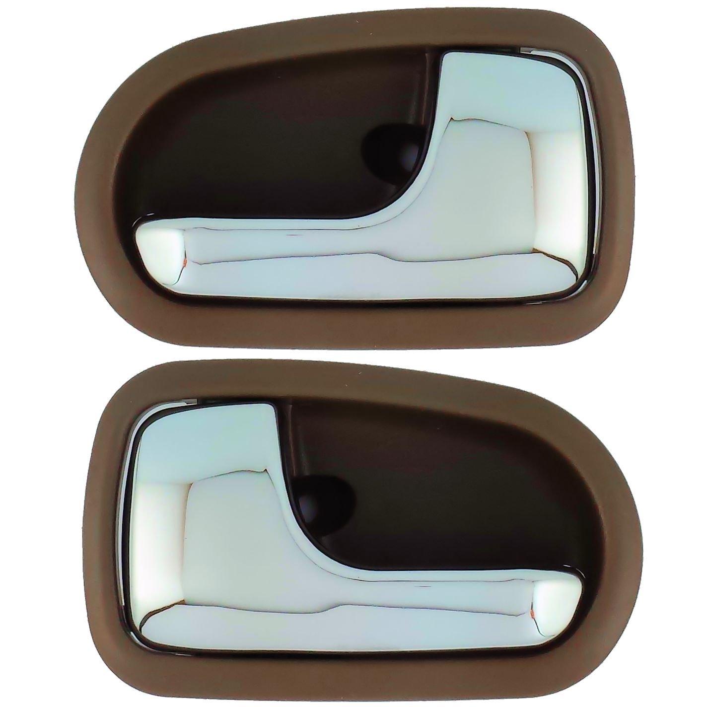 Iamauto 26792 For 1996 2003 Mazda Protege Brown Inside Door Handle