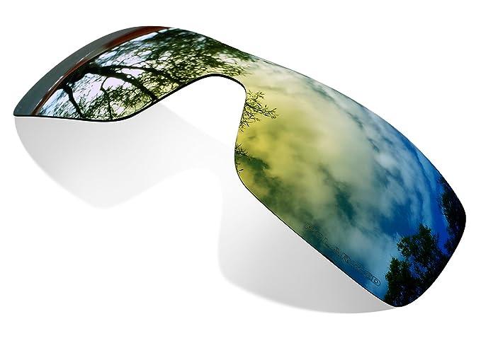 Sunglasses Restorer Lentes Polarizadas Gold 24K para Oakley Batwolf
