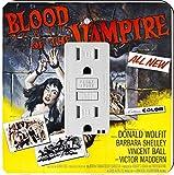 Rikki Knight 3704 Vintage Movie Posters Art Blood of Vampire 4 Design Light Switch Plate