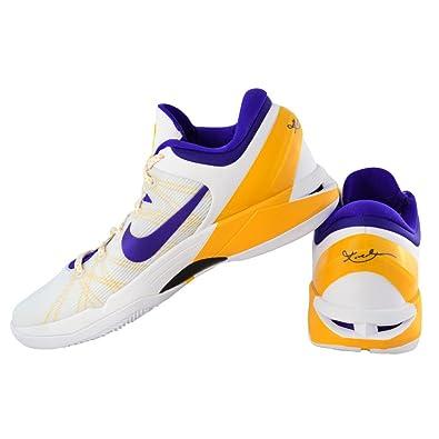 official photos 923fc 4d8a9 nikezoom Kobe VII System (White Concord-del sol-pr Pltnm) Cod. 488371 101  White Size  13 UK  Amazon.co.uk  Shoes   Bags