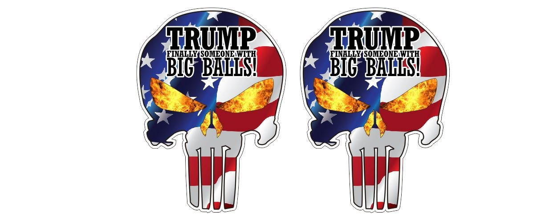 Amazon.com: Donald Trump Punisher por fin alguien con bolas ...