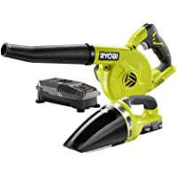 Ryobi 18-Volt ONE+ Lithium-Ion Cordless Sweeper and Vacuum